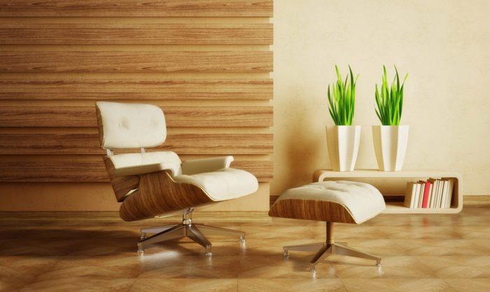 ديكورات خشبية للجدران