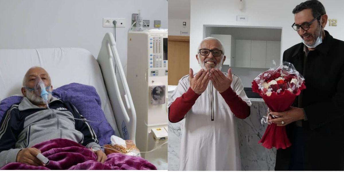 الفنان الأمازيغي الحسين برداوز يغادر المستشفى عقب تحسن وضعه الصحي