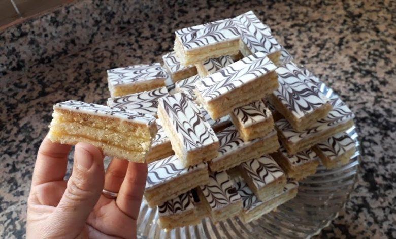 حلوى الميلفاي الكداب بمكونات بسيطة