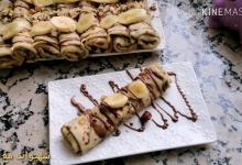 طريقة تحضير الكريب الحلو بالموز وكريمة الشوكولاتة