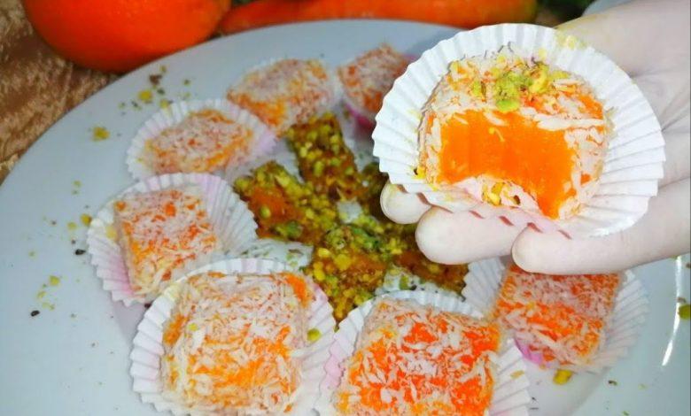 طريقة عمل حلوى الجزرية التركية