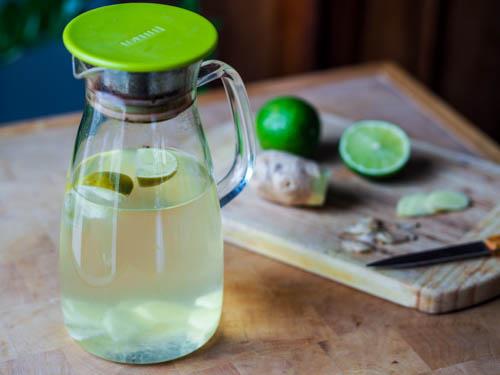 شراب الزنجبيل والليمون للتخسيس