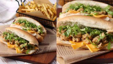 طريقة عمل ساندوتش كودو الدجاج
