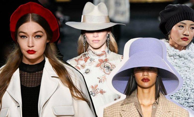 شاهدي أجمل قبعات شتوية موسم شتاء 2021