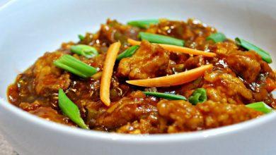 طريقة عمل دجاج منشوريان صيني