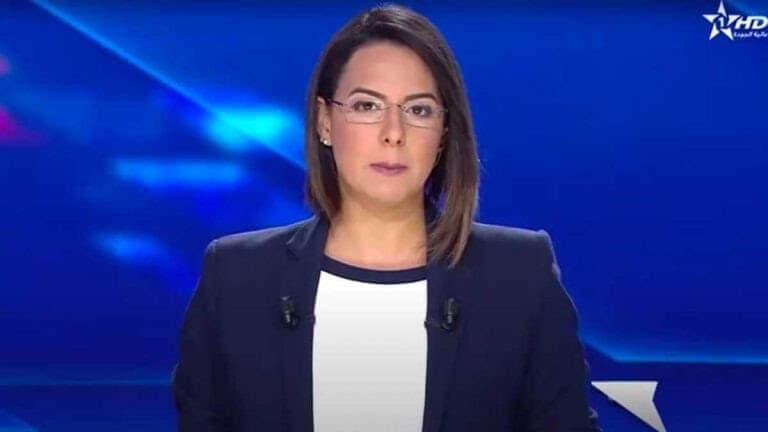 مريم العوفير تجد صعوبة في إستكمال تقديم نشرة أخبار القناة الأولى على المباشر بسبب صعوبة في التنفس