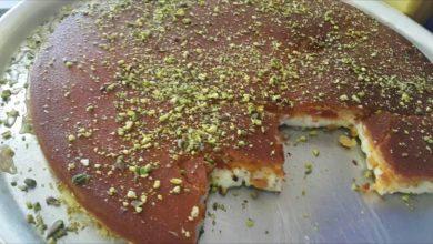 طريقة عمل كنافة لبنانية بالسميد