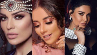 4 صور مكياج من وحي النجمات العربيات