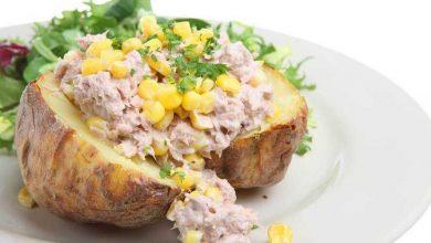وصفة البطاطس بالتونة للرجيم