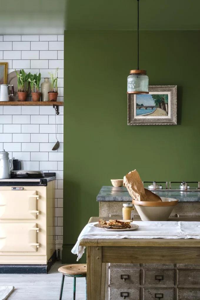 الوان مطابخ مودرن افضل الوان طلاء جدران المطبخ