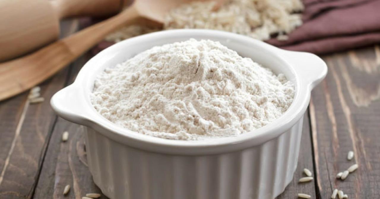 وصفة الأرز المطحون مع مسحوق النشا