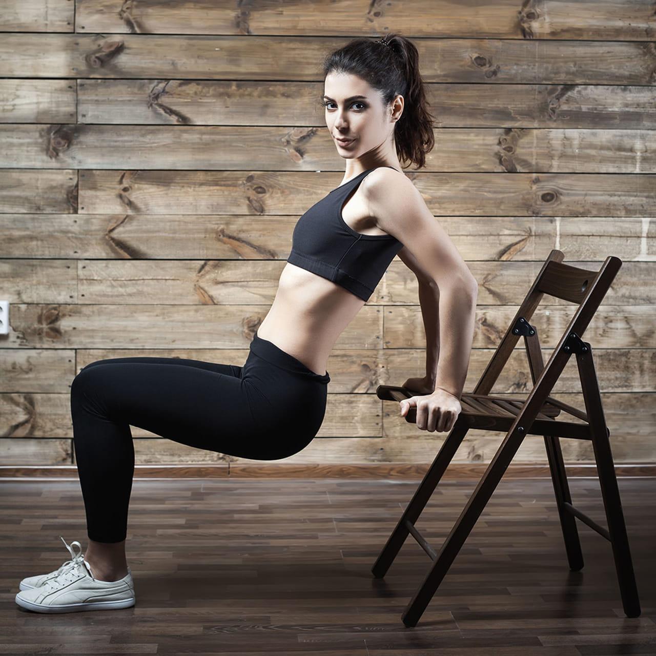 1- تمرين الكرسي