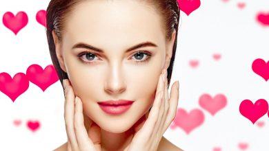 خدع جمالية بسيطة لبشرة مشرقة في عيد الحب