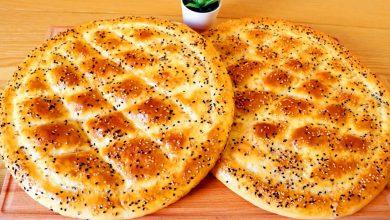 طريقة عمل خبز البيدا التركي