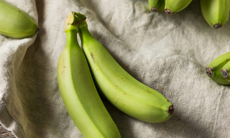 اهم فوائد تناول الموز الأخضر