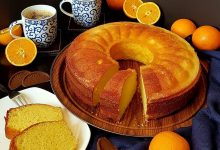 طريقة عمل كيك البرتقال الهش