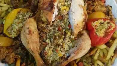 طريقة عمل دجاجة بالأرز في الفرن