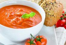 طريقة عمل شوربة الشوفان بالطماطم