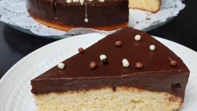 طريقة عمل كيك بكريمه الشوكولا