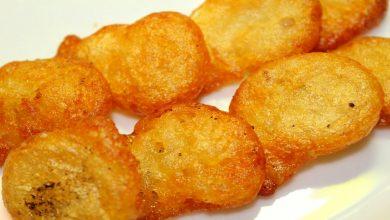 طريقة عمل البطاطس المقلية المنفوخة
