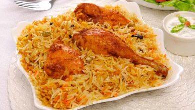 طريقة عمل الرز الكابلي المديني بالدجاج