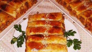 فطائر تركية مقرمشة بحشوة لذيذة جداا
