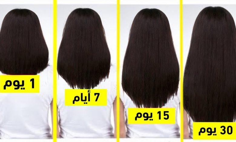 5 حيل سهلة للحصول على شعر طويل وصحي!