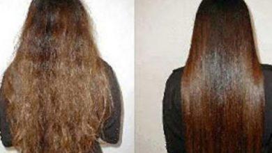 كيفية تمليس الشعر المجعد بنفسك في المنزل