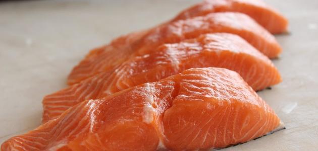 الفوائد صحية لسمك السلمون