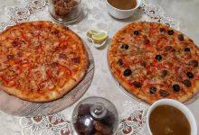 طريقة عمل بيتزا المطاعم لذيذة