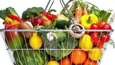 مكونات الطعام الصحي المتوازن