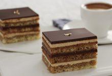 طريقة عمل كيكة الأوبرا بالشوكولاتة