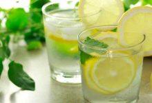 فوائد الليمون مع الماء البارد