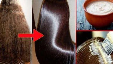 ماسك المايونيز للحصول على شعر ناعم للغاية بشكل لا يصدق