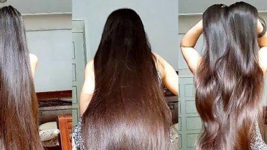 تطويل الشعر بدون مواد كيماوية لتمليس الشعر وعلاج التساقط