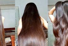 كيف تحصلين علي شعر كثيف و طويل مهما كان شعرك قصيرا سوف يصبح طويل للركبة و كثيف كشعر الهنديات مجربة وفعالة سيدهشك طوله
