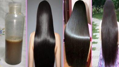 طريقة عمل شامبو منزلي لتطويل الشعر