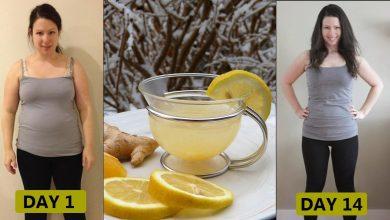 رجيم الماء والليمون لخسارة 16 كيلو جرام في الشهر