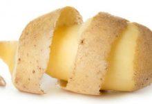 فوائد قشر البطاطس