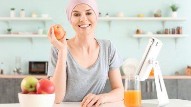 النظام الغذائي لمرضى السرطان