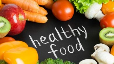 ما هو الأكل الصحي وغير الصحي؟