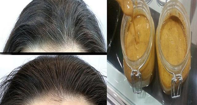 خلطة للتخلص من الشعر الأبيض نهائياً بدون صبغة