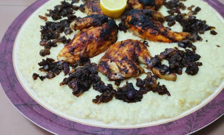 طريقة عمل الهريس الإماراتي بالدجاج