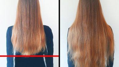 ماسك اللافندر لتطويل الشعر سريعاً
