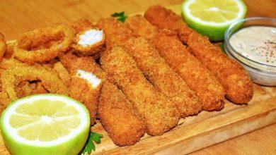 طريقة عمل أصابع السمك بالمايونيز