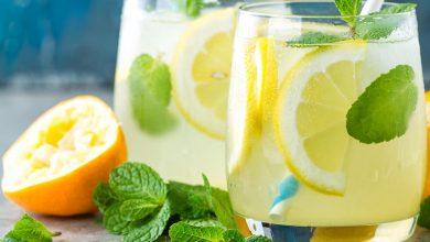 ديتوكس الليمون والنعناع