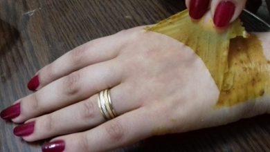 مقشر مميز يعطي يدين ناعمتين خالية من البقع والتصبغات والاسمرار