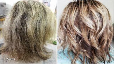 علاج تقصف الشعر ونعومته