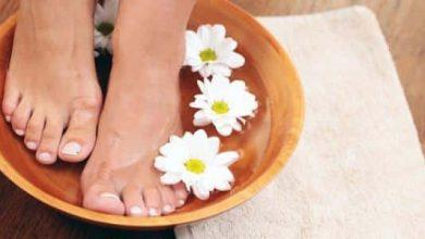 علاج فطريات القدم بالملح