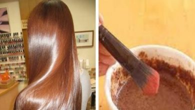 الوصفة الطبيعية لصبغ الشعر باللون البني فاتح ولامع